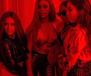 fifth harmony, lauren jauregui, and normani kordei image