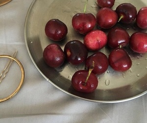 cherry, aesthetic, and food image