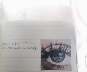aesthetic, beige, and blue eyes image