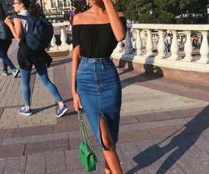 black top, fashion, and inspirations image