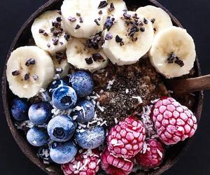 banana, berries, and blueberry image
