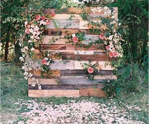 wedding, flowers, and ideas image