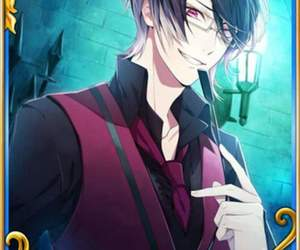 otome game, diabolik lovers, and reiji sakamaki image