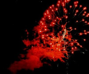 fireworks, red, and photography image