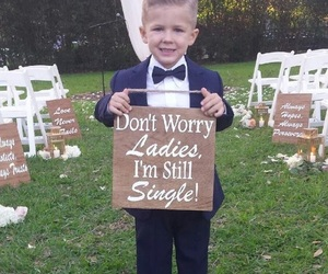 wedding, boy, and cute image