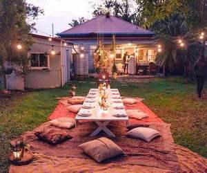 decor, dinner, and place image