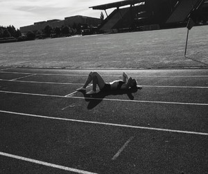 athletics, never give up, and track and field image