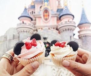 cupcake, disney, and food image