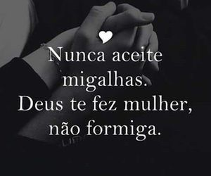 dEUS, mulher, and frase image