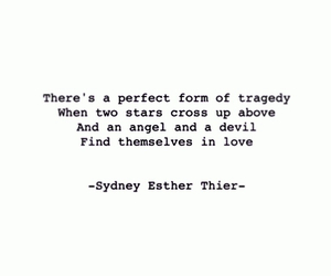 angel, Devil, and tragedy image