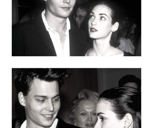 johnny depp, love, and winona ryder image