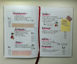 diary, diary planner, and ежедневник image