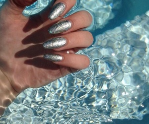 nails, water, and luxury image