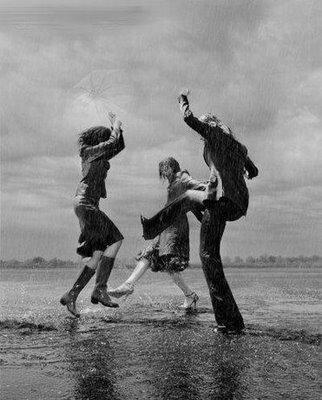 dance in the rain image