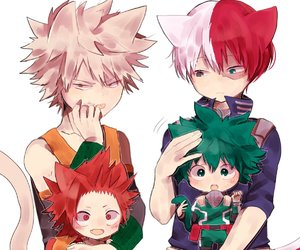 anime, boy, and boku no hero academia image