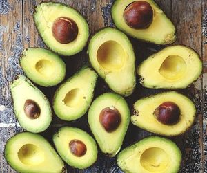 avocado, food, and healthy image