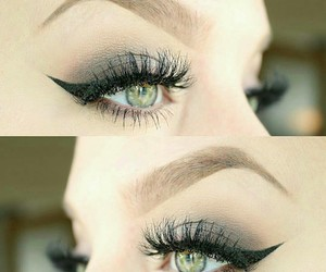 beautiful eyes and eye makeup image