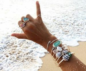 arm, hand, and sand image