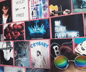 arctic monkeys, black, and cry baby image