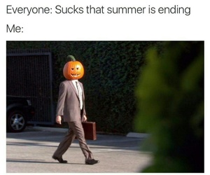 autumn, Halloween, and funny image