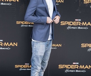 holland, homecoming, and spiderman image