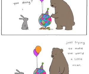 animals, bear, and goals image