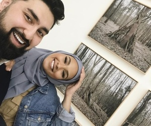 couple, goals, and hijab image