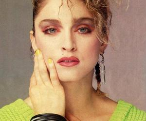 80's, singer, and madonna image