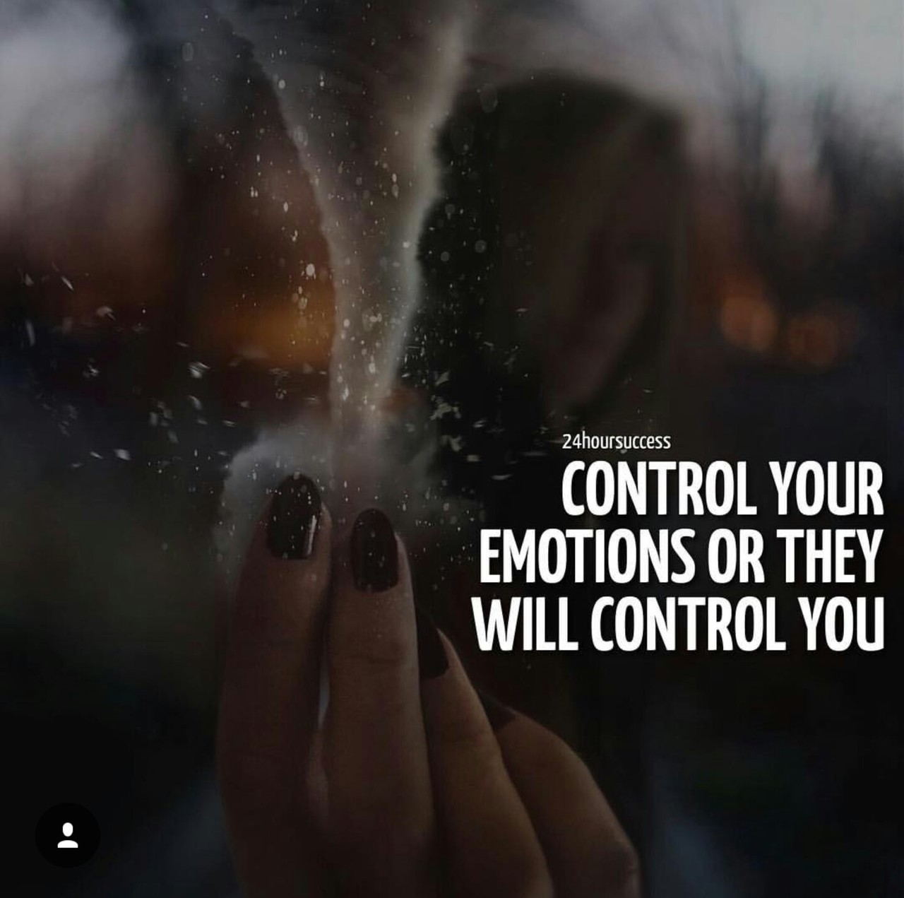 chill, control, and emotions image