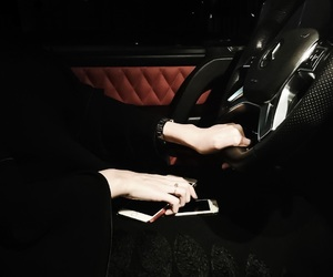 car and abaya image