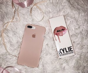 cosmetics, iphone, and kylie image