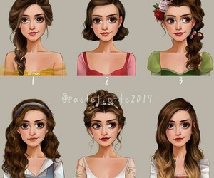 beauty and the beast, emma, and belle image