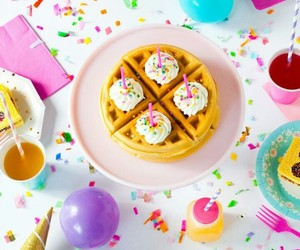 birthday and food image