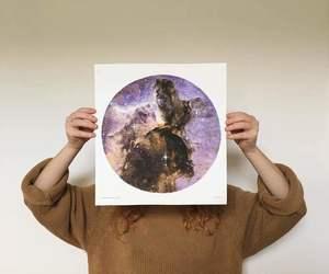 art, stars, and artist image