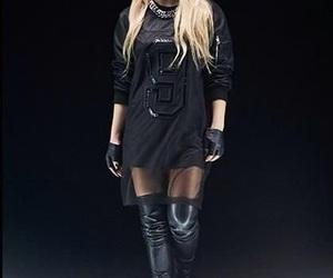 estilo, moda, and negro image