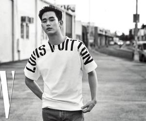 kim soo hyun, 김수현, and w magazine july issue 17 image