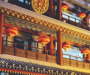 beautiful, china, and country image
