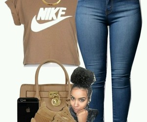 nike, Polyvore, and shoes image