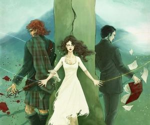 Claire, jamie fraser, and fan-art image