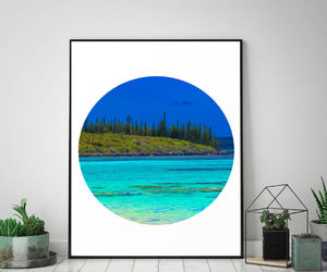 etsy, summer inspiration, and coastal wall art image