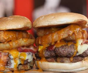 burgers, food, and meal image