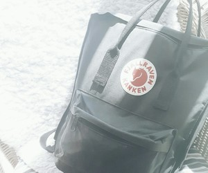 backpack, fjällrävenkånken, and cute image