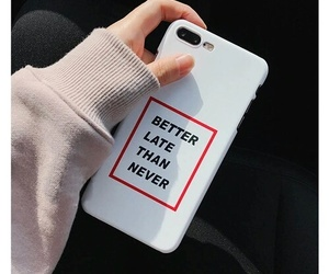 iphone, case, and quotes image