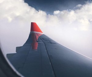 plane and travel image