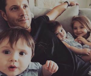 Jensen Ackles, supernatural, and family image