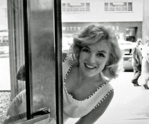 black and white, Marilyn Monroe, and beautiful image