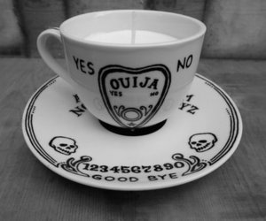 ouija, cup, and teacup image