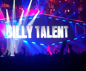 concert, rock, and billy talent image