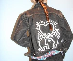 art, fashion, and jacket image