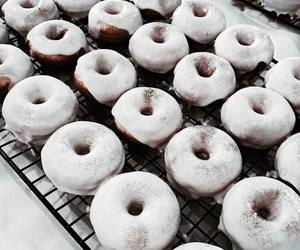 donuts, food, and dessert image